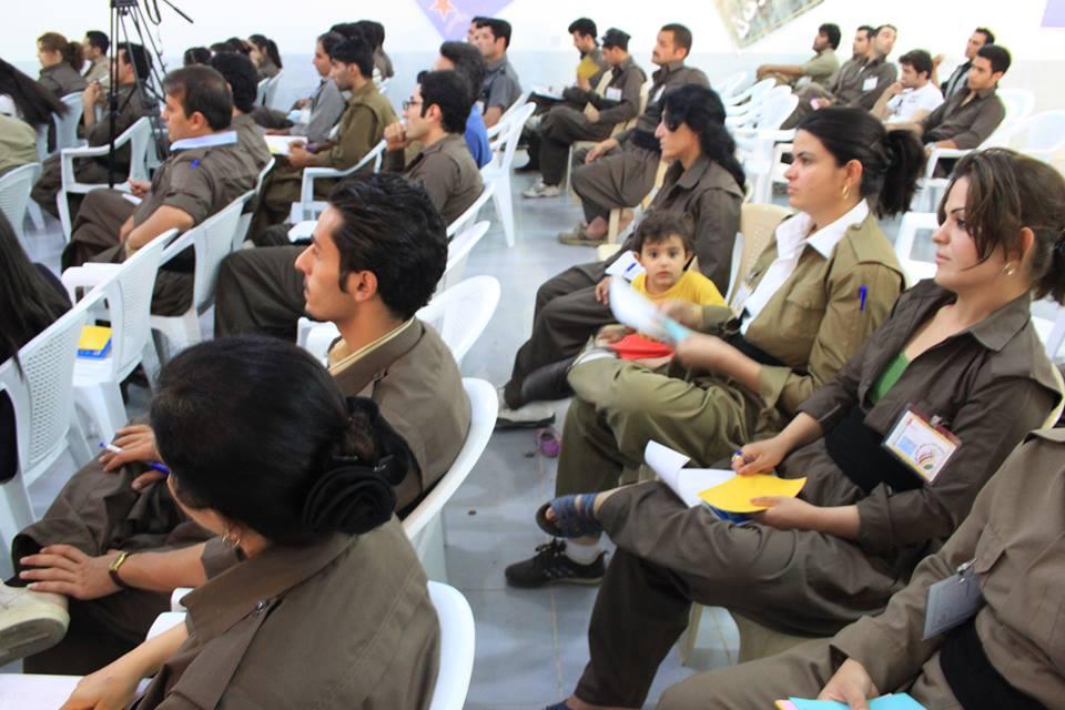 ئامادەكاریی رێكخراوەكانی لاوان بەرەو چوارەمین كۆنفرانسی لاوانی چوارپارچەی كوردستان